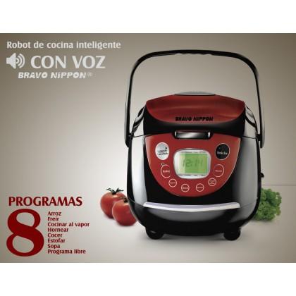 Robot de cocina con voz 8 programas de cocina freir - Cocinar con robots de cocina ...