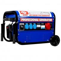 Generador con arranque de llave