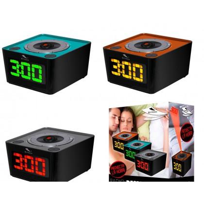 Reloj despertador proyector SYTECH